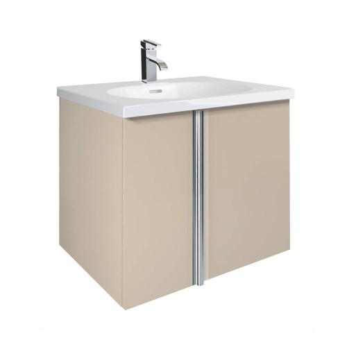 Avila Taupe 60cm Wall Hung Vanity Unit
