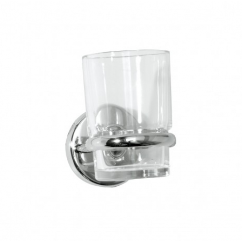Wessex Glass Toothbrush Holder