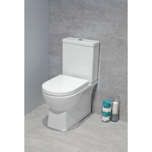 Denver Fully Shrouded Toilet