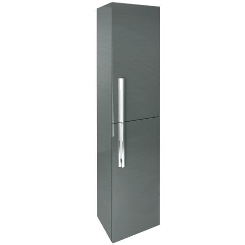 Avila Gloss Grey Wall Hung Column