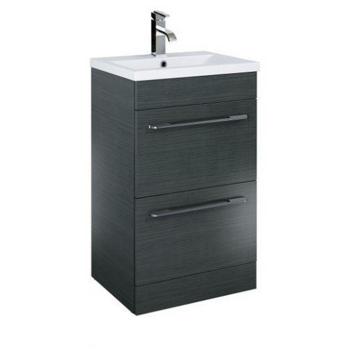Cairo Grey 50cm Vanity Unit Vanity Units