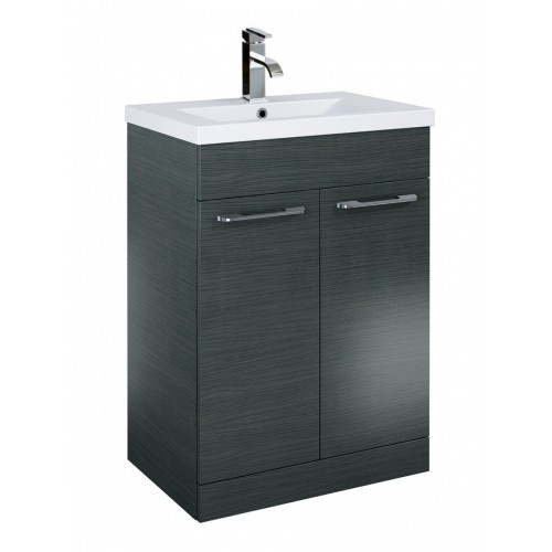 Porto Grey 60cm Vanity Unit