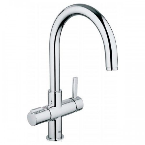 Grohe Red Duo Boiling Sink Mixer C Spout