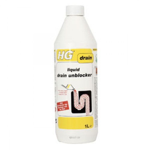 HG Liquid Drain Unblocker 1Ltr