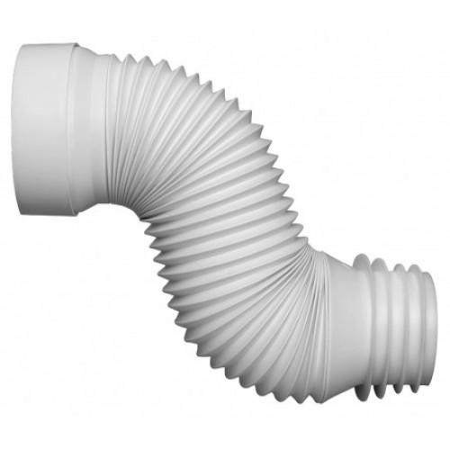 Flex Pan Connector White Plumbing