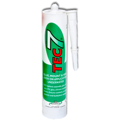 tec 7 white sealant 310ml davies. Black Bedroom Furniture Sets. Home Design Ideas