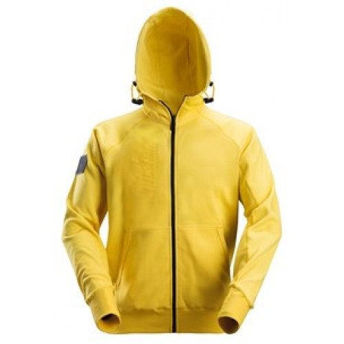 Snickers Logo Hoodie (Full Zip) Yellow 2880