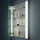 Illusion Single Mirror Glass Door Cabinet