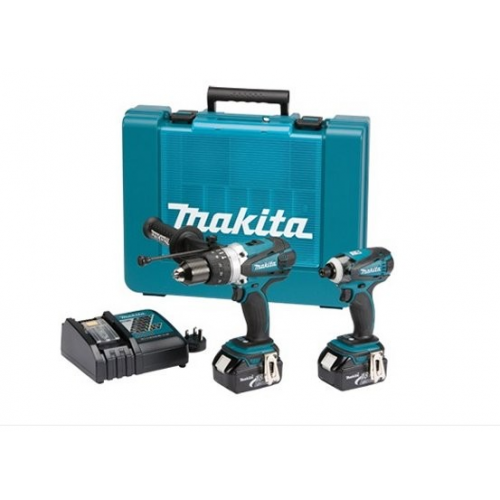 Makita 18V LXT 2Pc Combo Kit DLX2005