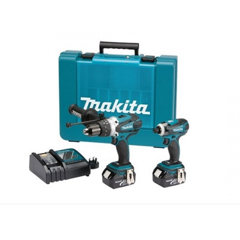 makita dlx2005 twin pack 18v lxt. Black Bedroom Furniture Sets. Home Design Ideas