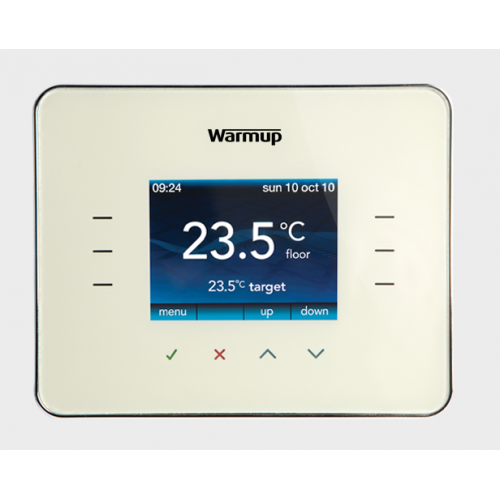 Warmup 3IE Thermostat -Cloud White