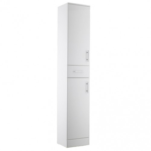 Belmont Tallboy White Cabinets
