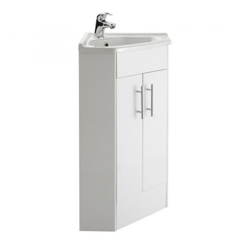 Torrian Corner Vanity Unit Rt Large Davies