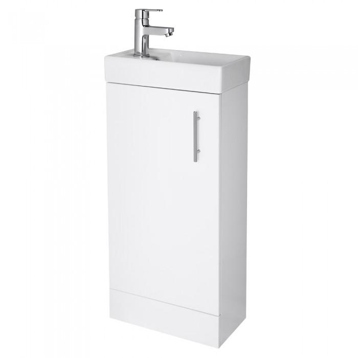 Minimalist Floor Standing Vanity Unit White Vanity Units
