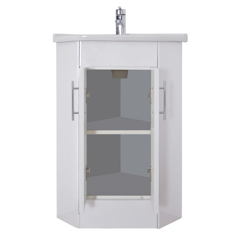 Torrian corner vanity unit rt large davies for Large bathroom units