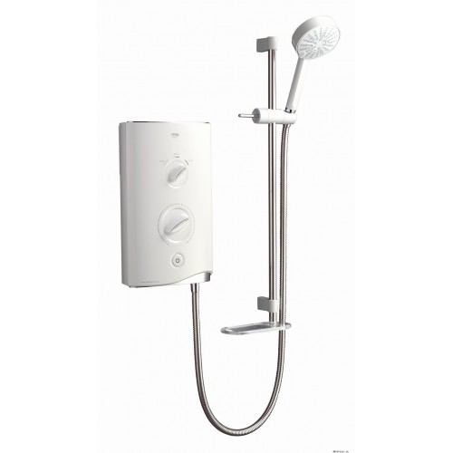 Mira Sport Thermostatic 9.8kw White