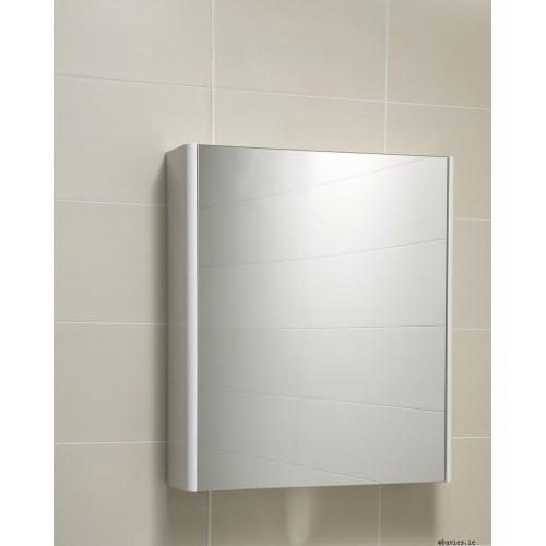 Ella White Mirror Cabinet 60cm