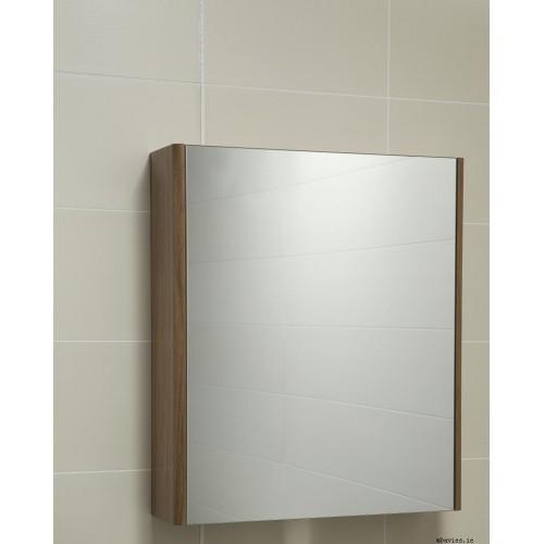Ella Walnut Mirror Cabinet 60cm