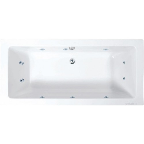 Plane Bath Single Ended 1800mmX800mm c/w 12 Jets