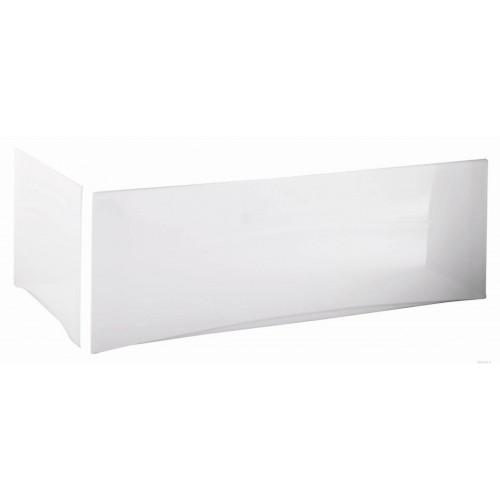 PVC Bath End Panel 800mm White Baths
