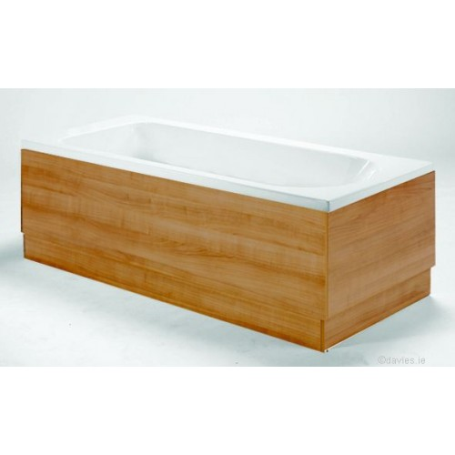 Athens Oak End Side Panel 700mm  Baths