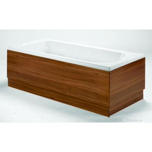 Athens Walnut Bath Side Panel 1800mm  Baths