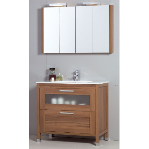 Trend 100cm Walnut Toledo Bathroom Furniture