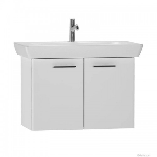 Vitra S20 65cm White Gloss Bathroom Furniture