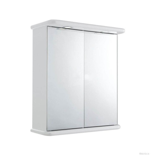 Niche 60cm Double Mirrored Cabinet Bathroom Furniture
