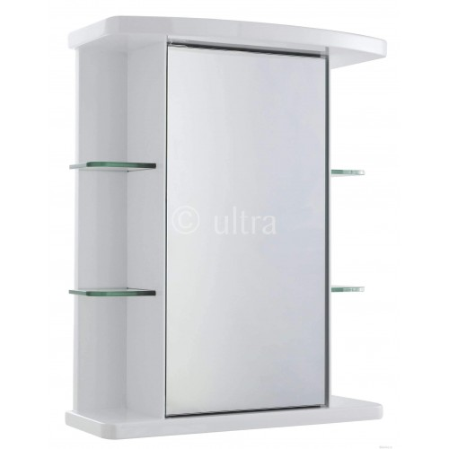 Verve Single Mirror Cabinet Bathroom Furniture
