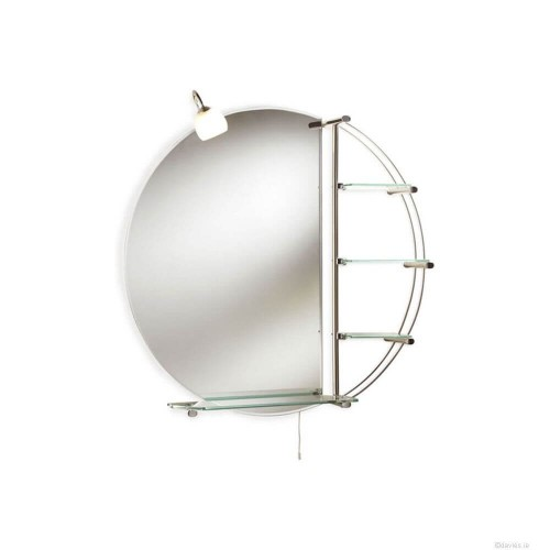 Magnum Mirror with Light & Glass Bathroom Furniture