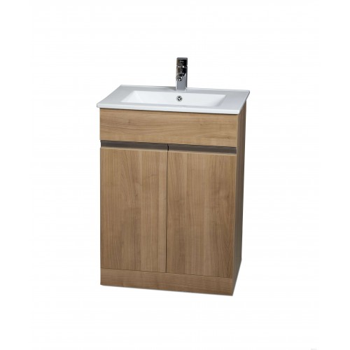 Athens 60cm Oak Toledo Bathroom Furniture