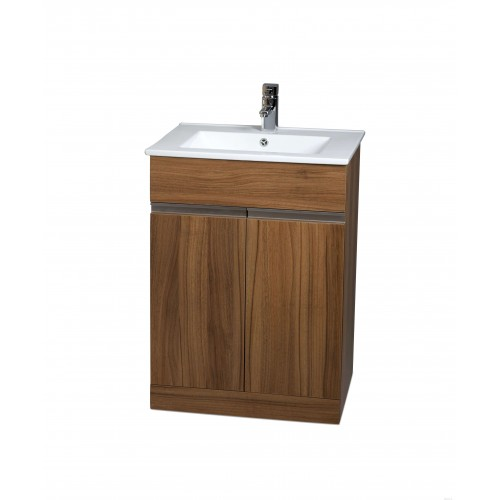 Athens 60cm Walnut Toledo Bathroom Furniture