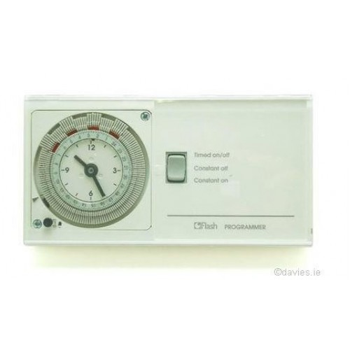 Flash 24 Hour Time Clock 31031 Control Packs