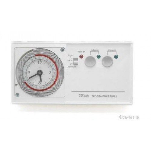 Flash 24 Hour Time Clock c/w 1 Hour Boost 31005 Control Packs