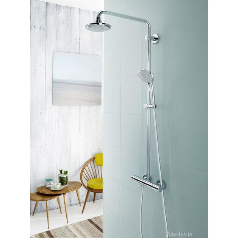 grohe rainshower system 27296 grohe davies. Black Bedroom Furniture Sets. Home Design Ideas
