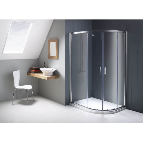 Flair Chainti Offset Quadrant Shower Doors & Enclosures