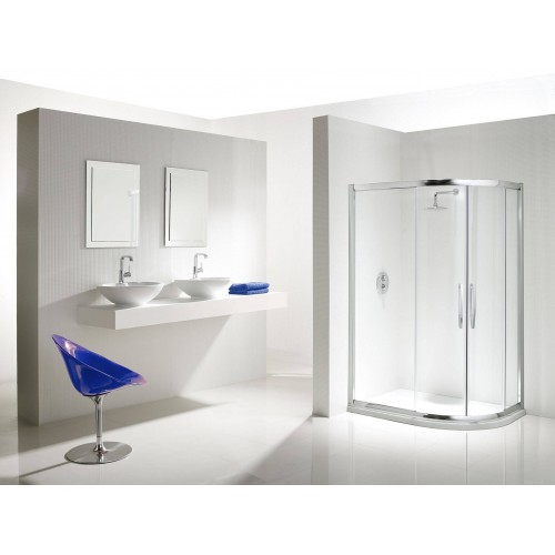 Flair Namara Offset Quadrant Shower Doors & Enclosures