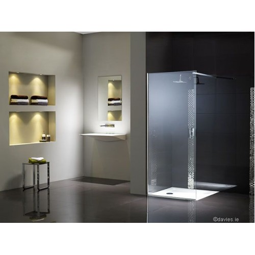 Flair Corner Wetroom Screen Shower Doors & Enclosures
