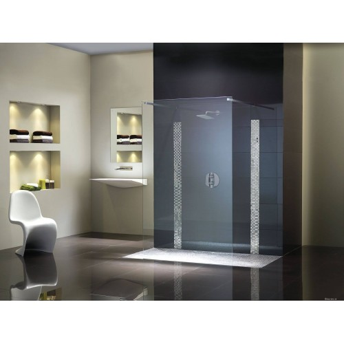Flair Double Entry Wetroom Screen Shower Doors & Enclosures