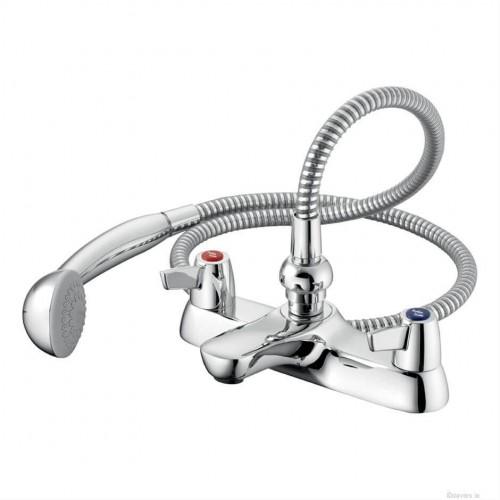 Sandringham 21 Lever Bath Shower Mixer Taps