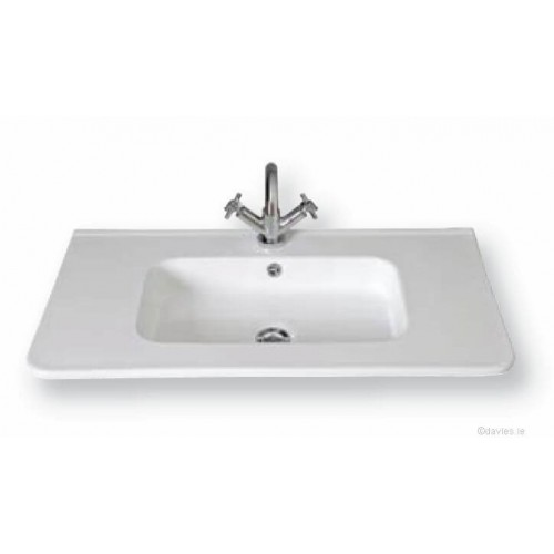Alicante Countertop Basin 60cm 1th
