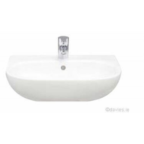 Tonique Semi-Recessed 52cm 1th  Basin