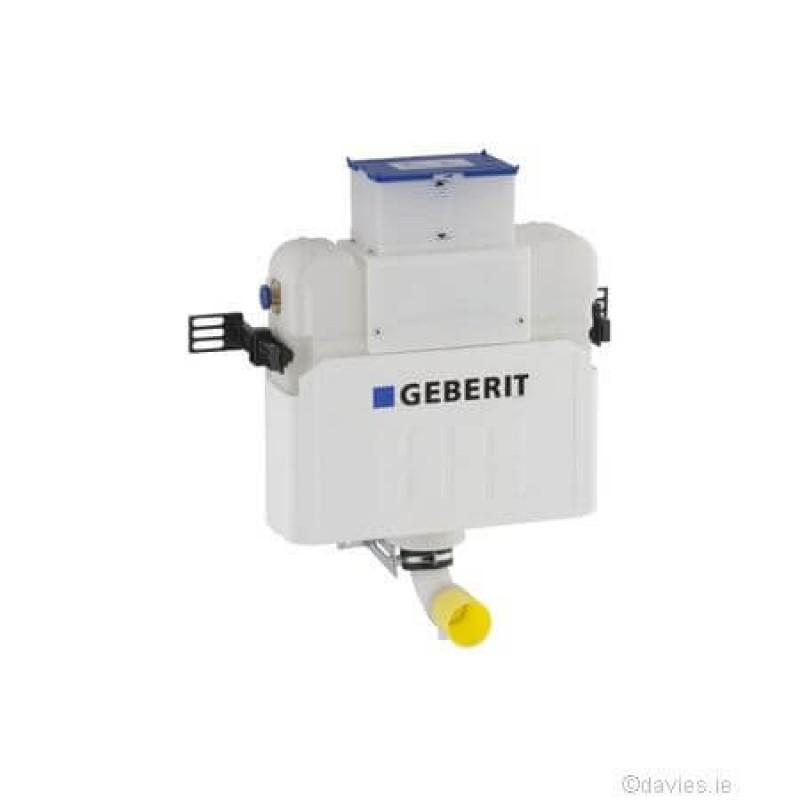 Geberit concealed cistern kappa20 plate gloss geberit davies for Geberit system