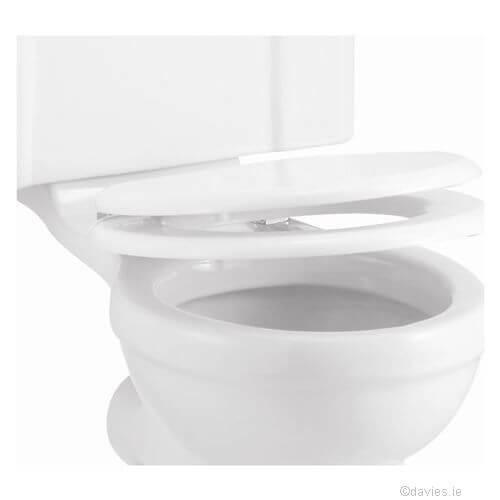 Burlington White Soft Seat & Cover Toilet Seats