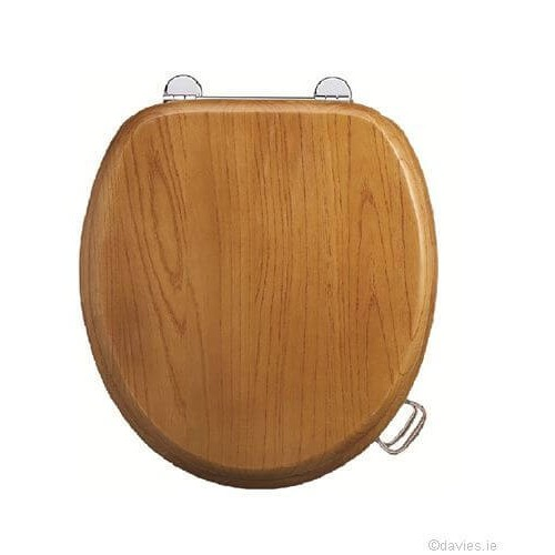 Burlington Oak Wooden Seat & Cover Toilet Seats