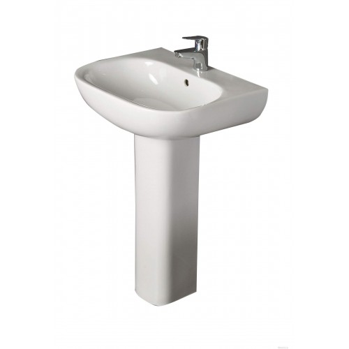 Tonique 55CM 1TH Pedestal Basin