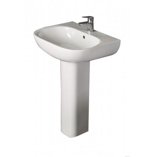 Tonique 55CM 1TH Pedestal Basin