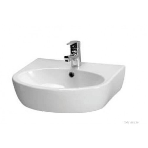 Parva 50cm 1th Pedestal Basin
