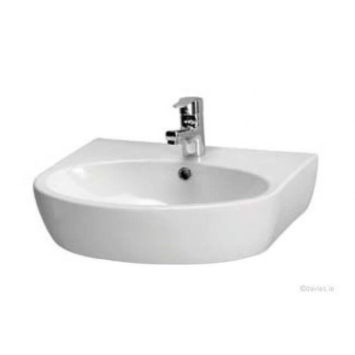 Parva 55cm 1th Pedestal Basin